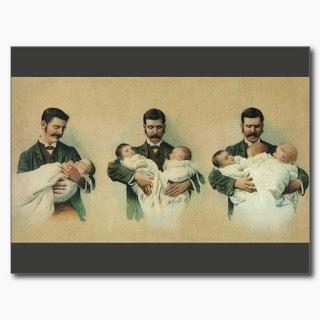 El papel del papá múltiple