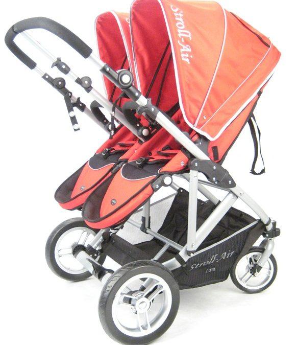 Opiniones sobre carritos gemelares (I): Stroll Air My Duo y Cybex Twinyx