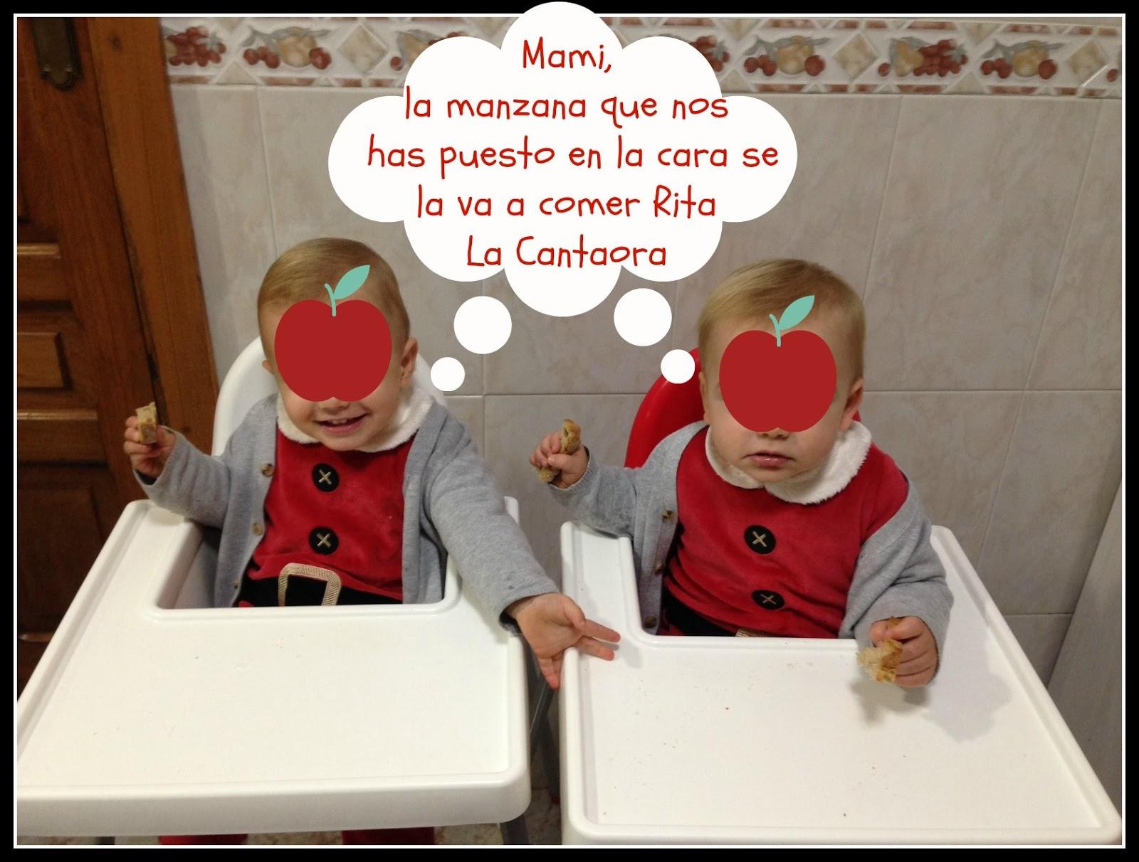¿Cuándo comerán mis gemelos?